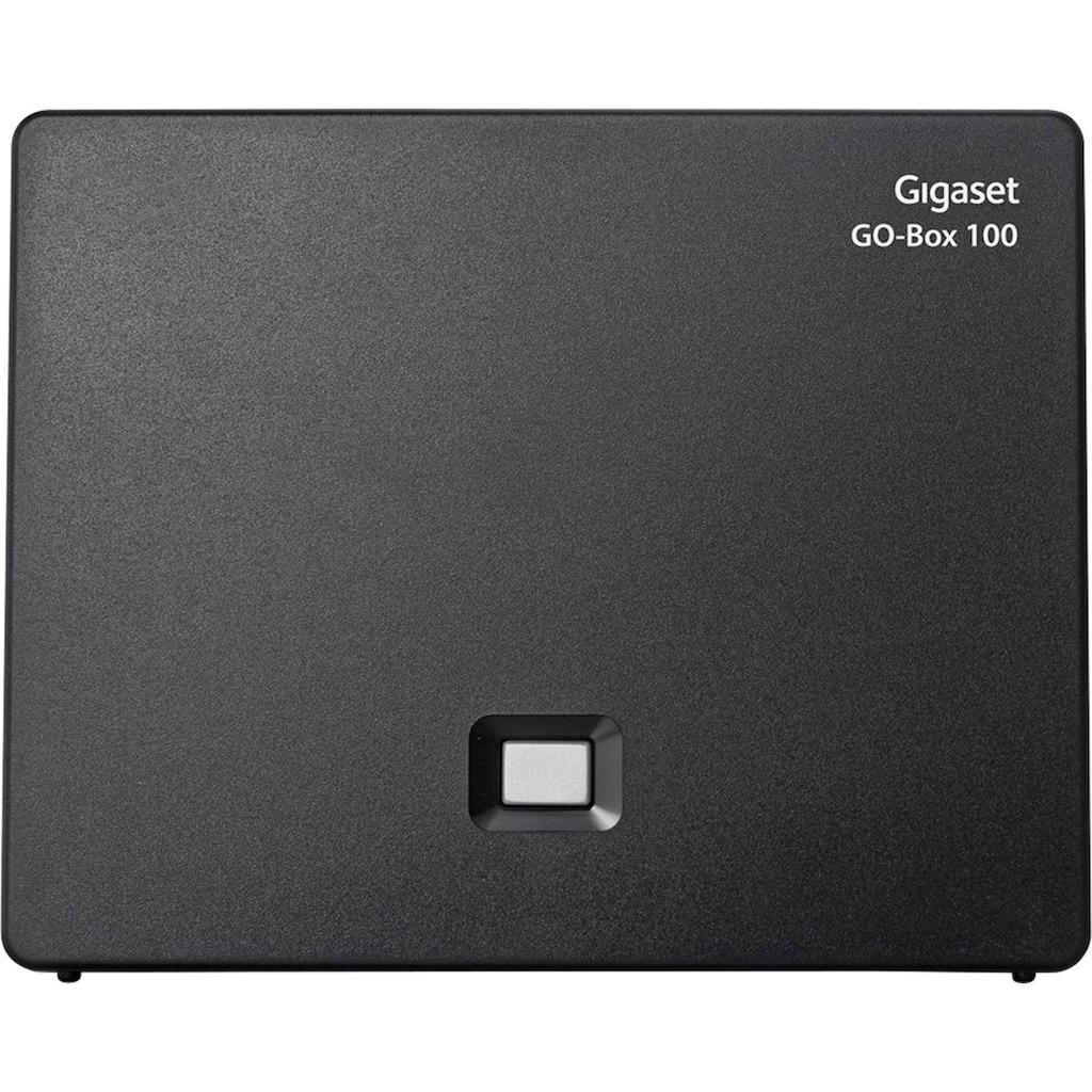 Gigaset Schnurloses DECT-Telefon »SL450 A GO«, (Mobilteile: 1 LAN (Ethernet)-Bluetooth), Anrufbeantworter, Weckfunktion, Freisprechen