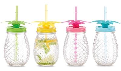 Zeller Present Gläser-Set »Ananas«, (Set, 4 tlg.) kaufen