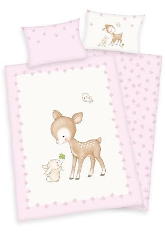 Herding Babybettwäsche »Jana Reh«, mit Motiv kaufen