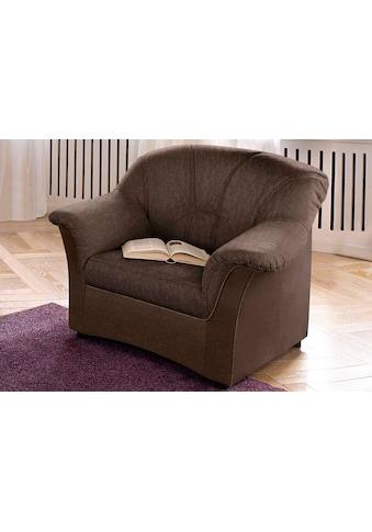 DOMO collection Sessel »Flores«, wahlweise mit Federkern (nicht bei Microfaser... kaufen