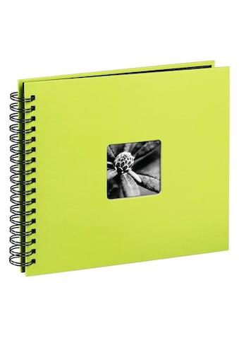 """Hama Fotoalbum »Fotoalbum z. einkleben Kiwi«, 28 x 24 cm, 50 Seiten, Photoalbum """" Fine... kaufen"""