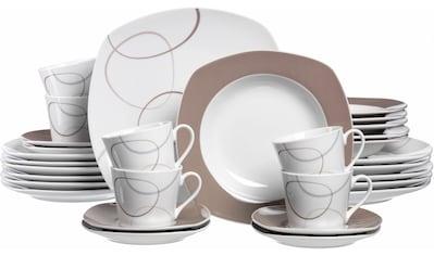 "Ritzenhoff & Breker Kombiservice ""Alina"" (30 - tlg.), Porzellan kaufen"