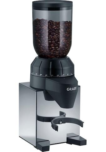 Graef Kaffeemühle »CM 820«, 128 W, Kegelmahlwerk, 250 g Bohnenbehälter, Edelstahl kaufen