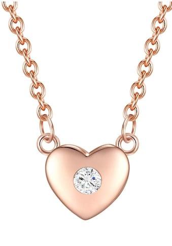 Rafaela Donata Herzkette »50115015«, mit Zirkonia kaufen