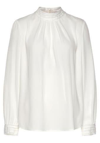 s.Oliver BLACK LABEL Schlupfbluse, mit modischen cut-off-Nähten kaufen