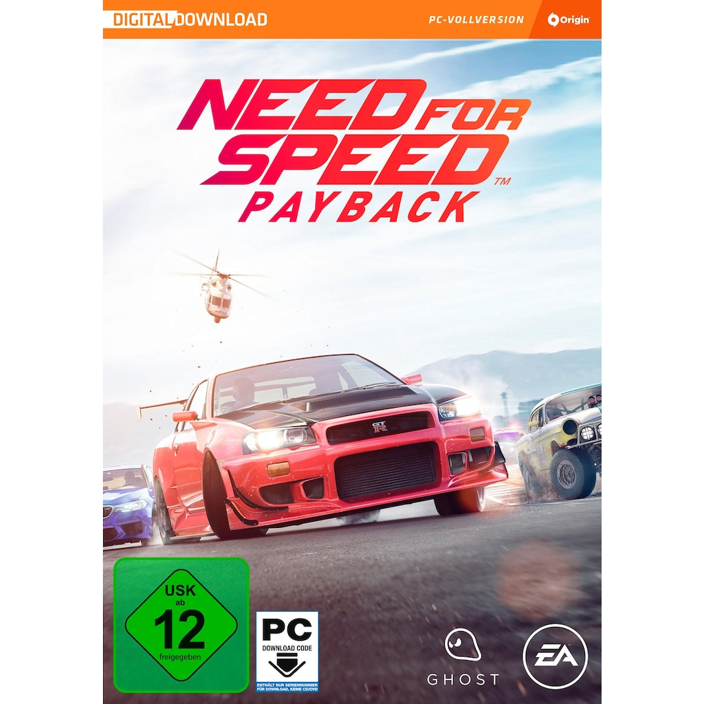 Electronic Arts Spiel »Need for Speed: Payback (Download Code)«, PC, Software Pyramide