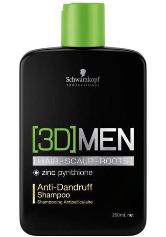 Schwarzkopf Professional Haarshampoo »3D Men Anti-Dandruff Shampoo«, (1 tlg.),... kaufen