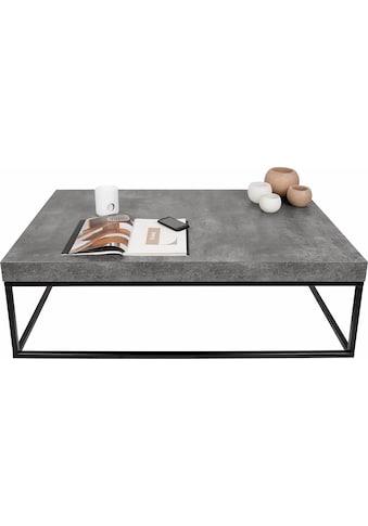 TemaHome Couchtisch »Petra«, mit einer Tischplatte in Beton-Optik und einem schönen... kaufen