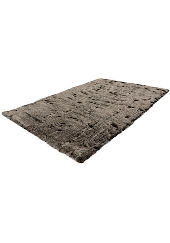 Hochflor - Teppich, »Aysu«, Leonique, rechteckig, Höhe 52 mm, maschinell gewebt kaufen