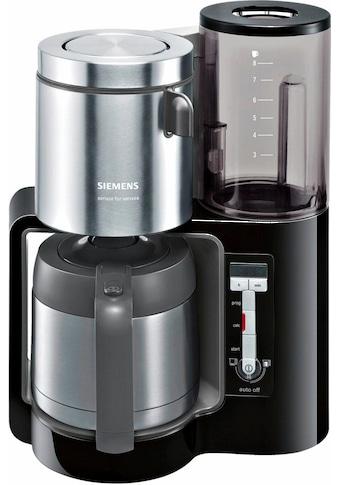 SIEMENS Filterkaffeemaschine »Sensor for Senses TC86503«, Papierfilter, 1x4, Wassertank mit Griff kaufen