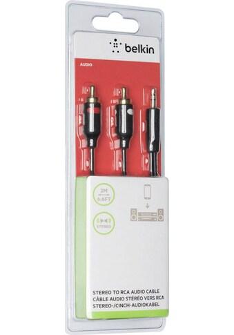 Belkin Audio-Kabel »Stereo-Kabel, Y-Audio-Kabel, 2m«, 3,5-mm-Klinke, Cinch, 200 cm kaufen