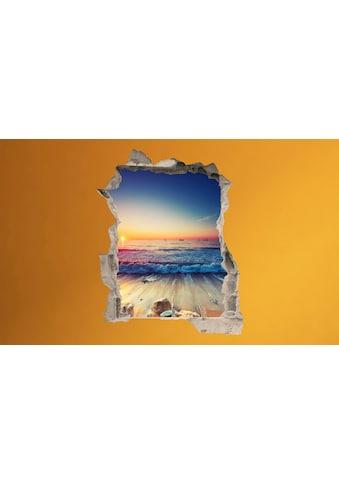 Conni Oberkircher´s Wandsticker »Sunset Waves« kaufen