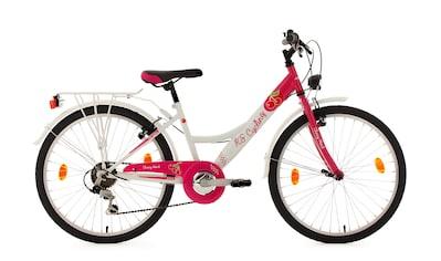 KS Cycling Jugendfahrrad »Cherry Heart«, 6 Gang Shimano Tourney Schaltwerk, Kettenschaltung kaufen