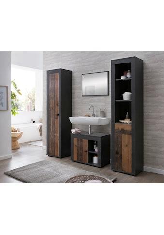 WILMES Set: Badezimmer - Set »RÜGEN«, 4 - tlg., mit pflegeleichter Oberfläche kaufen