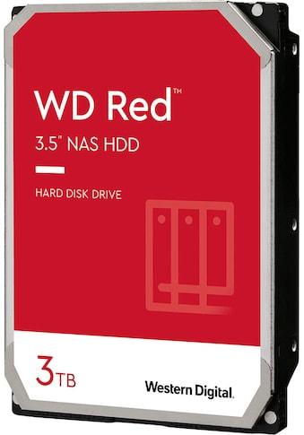 "Western Digital HDD-NAS-Festplatte »WD Red 3TB«, 3,5 "", Bulk kaufen"