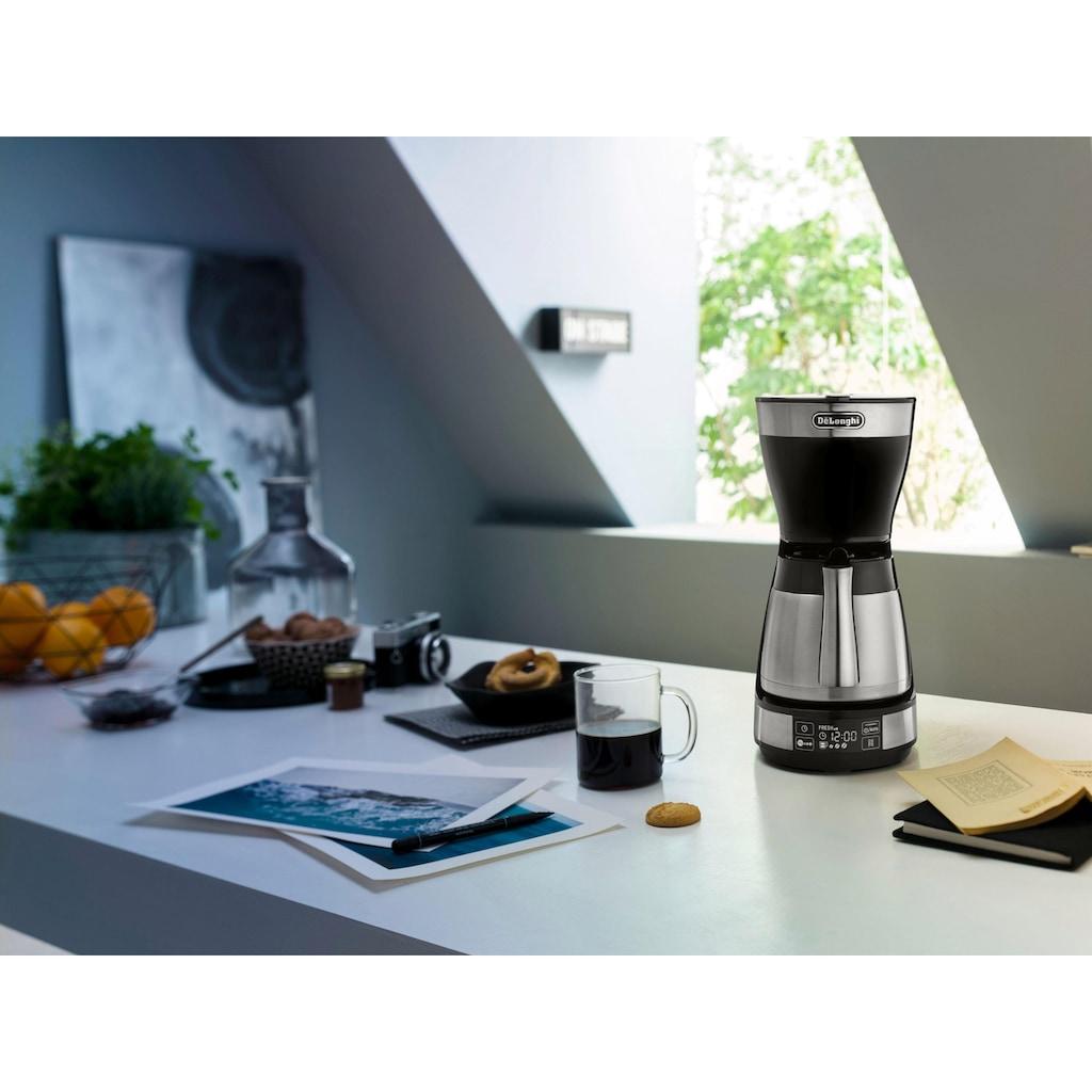 De'Longhi Filterkaffeemaschine »ICM 16731«, Papierfilter