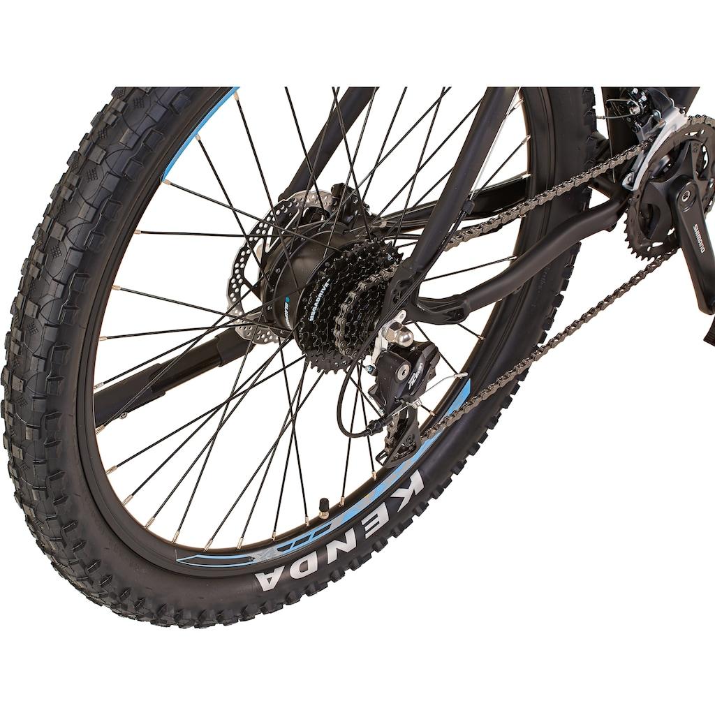 Prophete E-Bike »Graveler e9400«, 8 Gang, Shimano, Shimano Deore, Heckmotor 250 W, inkl. Pannenset und Tasche
