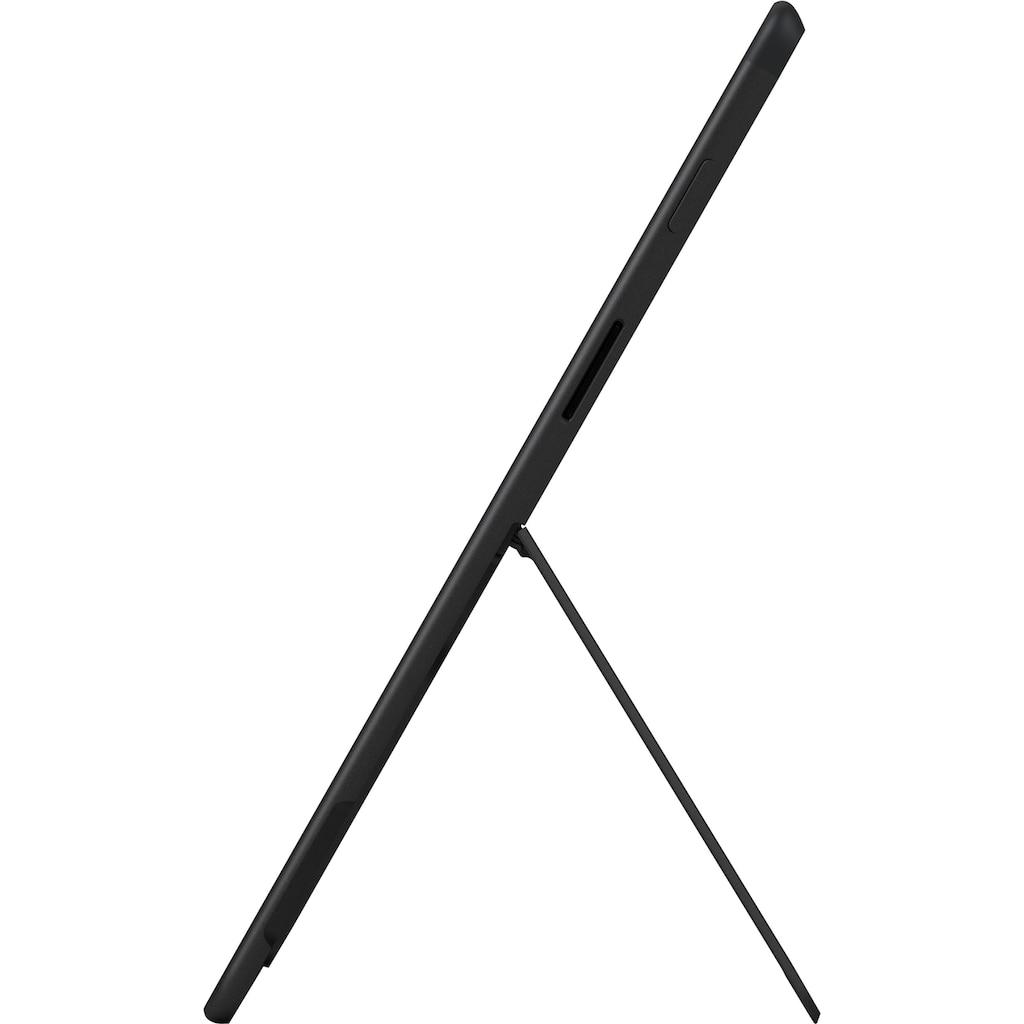 Microsoft Convertible Notebook »Surface Pro X, 256/16GB matt schwarz«, ( 256 GB SSD)