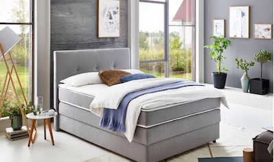 ATLANTIC home collection Boxspringbett, mit Bettkasten und Topper kaufen