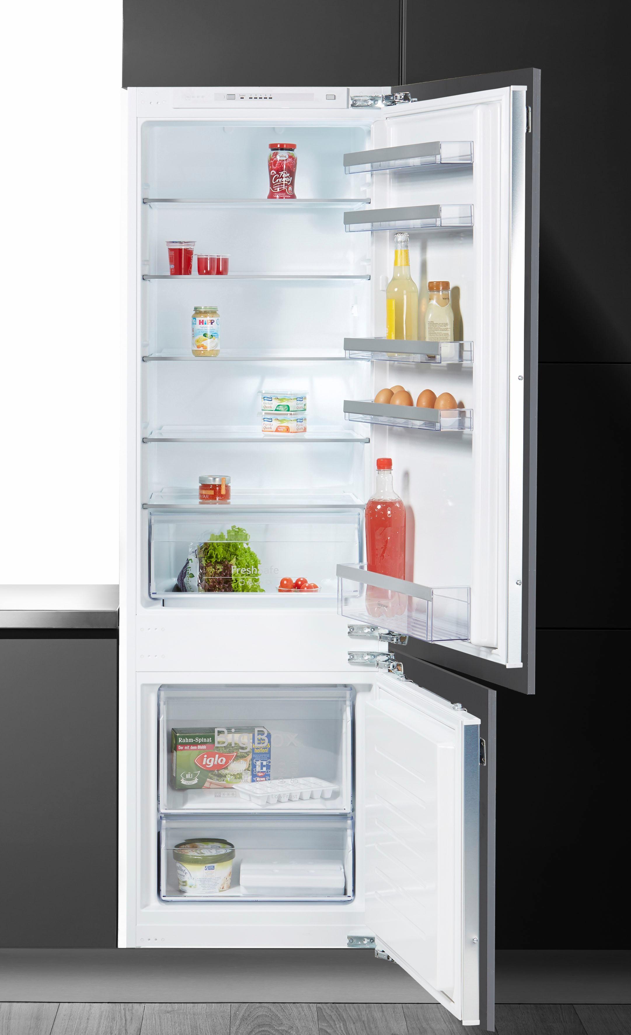 NEFF Einbaukühlgefrierkombination, 177,2 cm hoch, 54, 5 cm breit | Küche und Esszimmer > Küchenelektrogeräte > Kühl-Gefrierkombis | NEFF