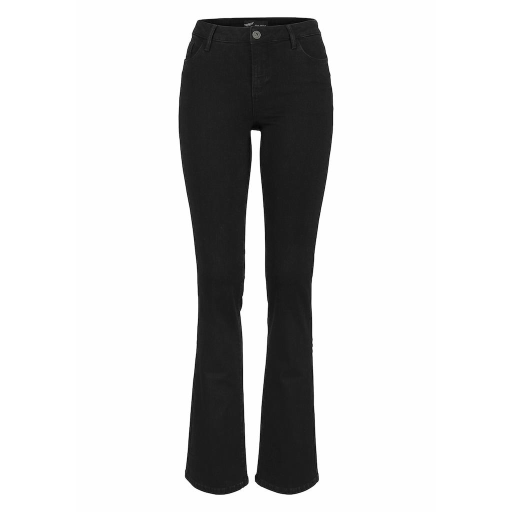 Arizona Bootcut-Jeans »mit Thermo Effekt«, High Waist