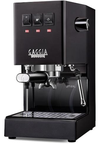 Gaggia Siebträgermaschine »New Classic Edition Schwarz« kaufen