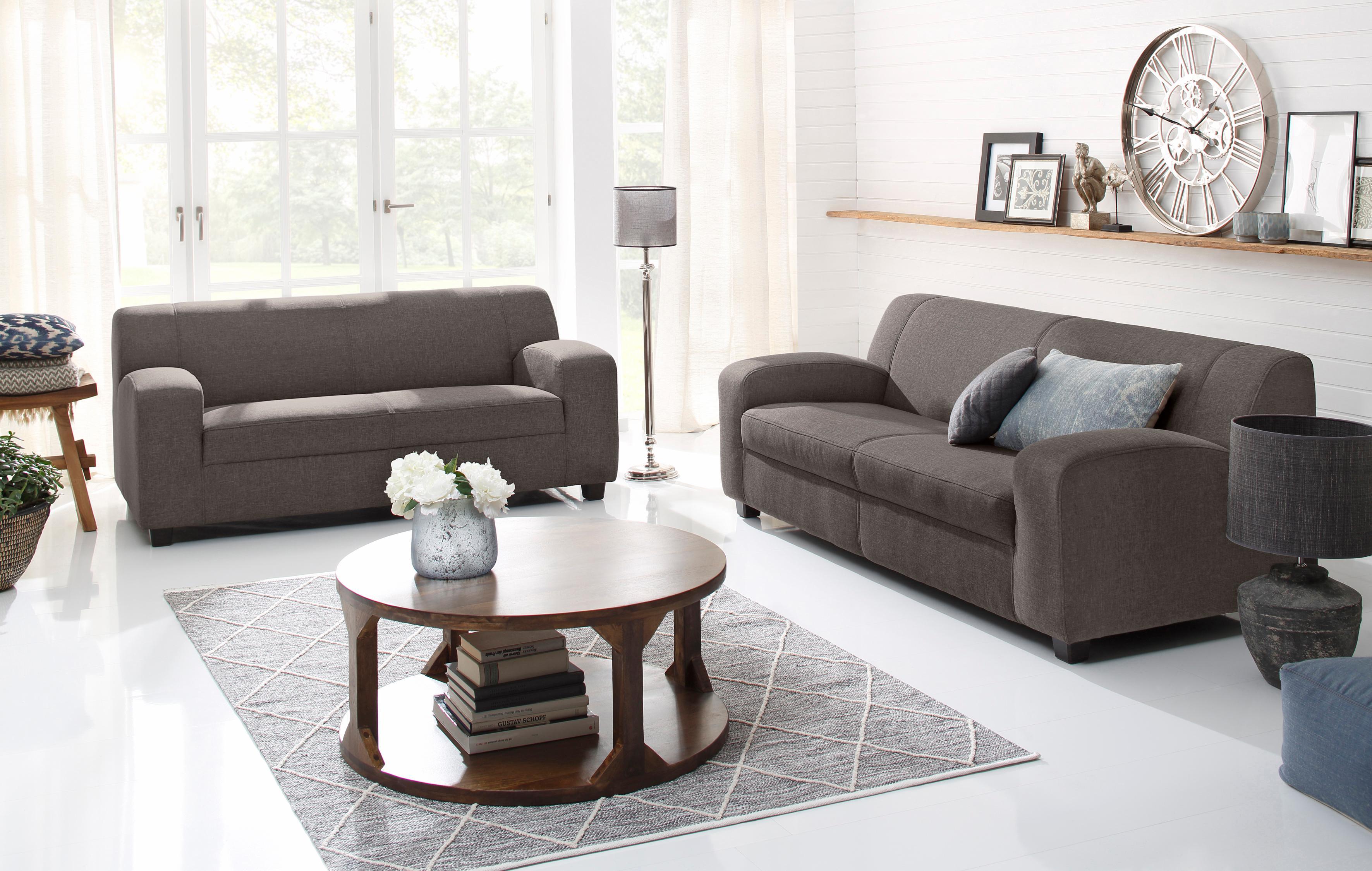 braun 2 & 3 Sitzer Sofas online kaufen | Möbel-Suchmaschine ...