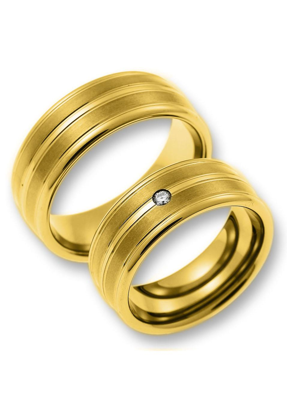 CORE by Schumann Design Partnerring »TW011, 09/19013843, TW011.03/10008958« | Schmuck > Ringe > Partnerringe | Goldfarben | CORE BY SCHUMANN DESIGN
