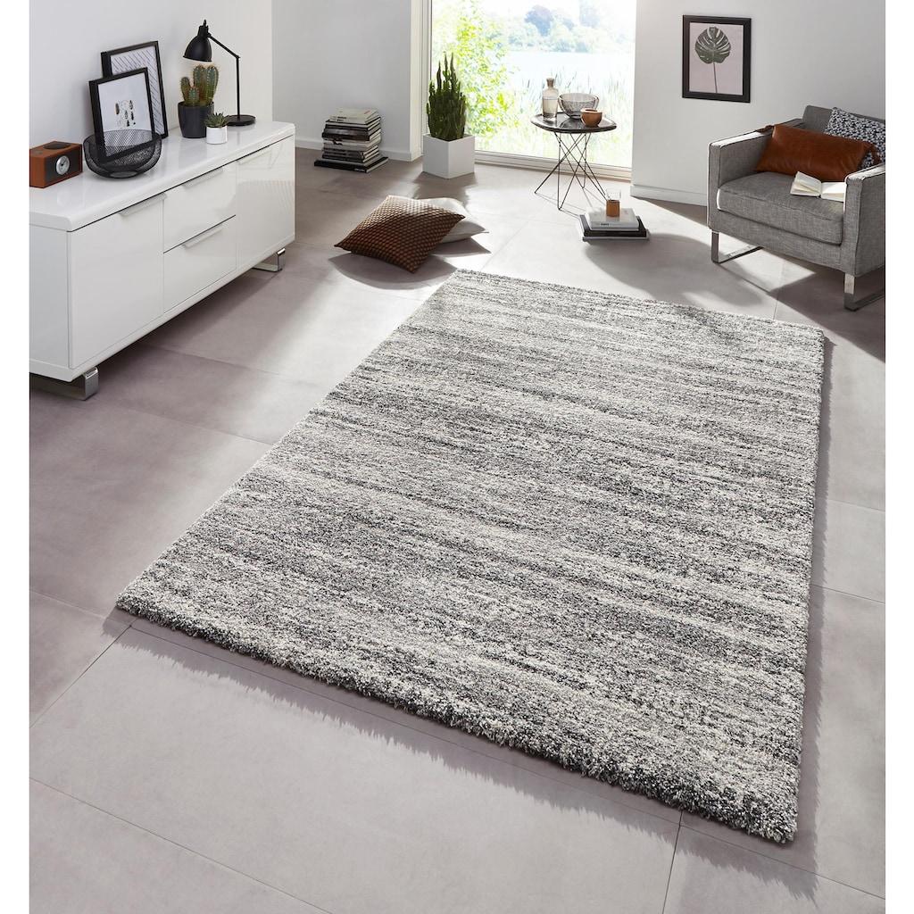 MINT RUGS Hochflor-Teppich »Granite«, rechteckig, 25 mm Höhe