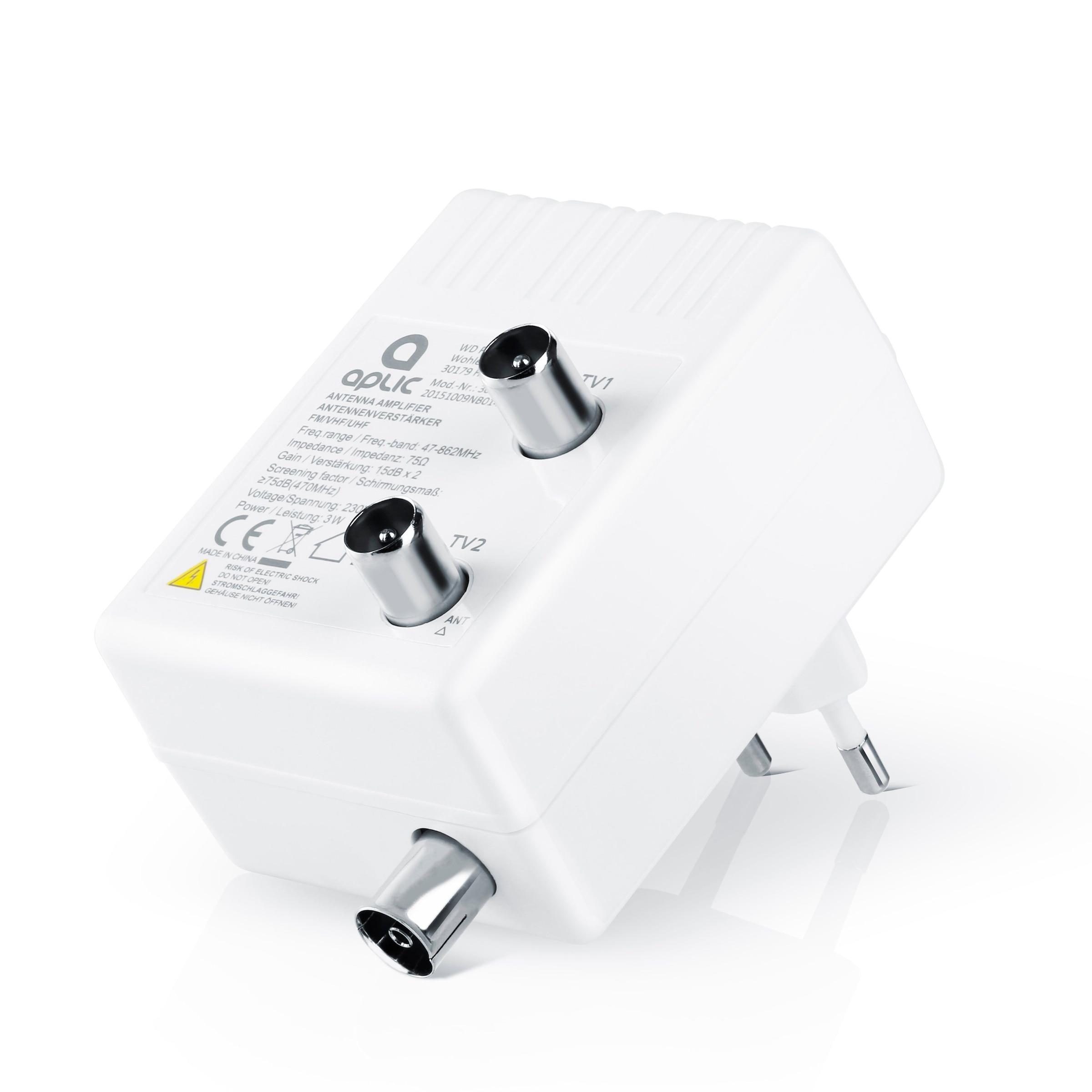Aplic 3dB DVB-T Antenne passiv Zimmerantenne mit IEC -Stecker Koaxstecker Koax