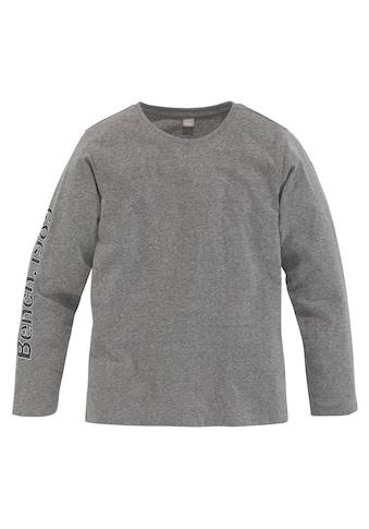 Bench. Langarmshirt »mit Ärmel-und Rückendruck« kaufen