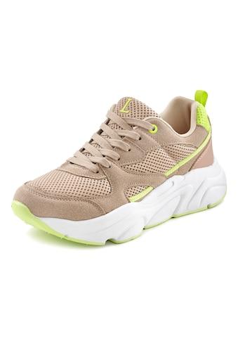 LASCANA Sneaker, mit leichter Chunky-Sohle und herausnehmbarer Innensohle kaufen