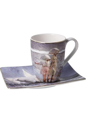 """Goebel Tasse »Künstlertasse Joaquin Sorolla - """"Schwestern am Strand""""«, 350 ml kaufen"""