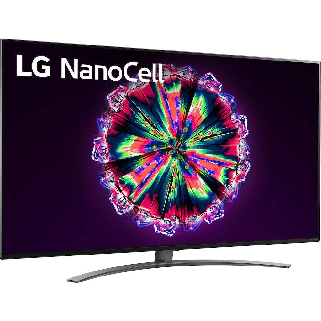 "LG LED-Fernseher »49NANO867NA«, 123 cm/49 "", 4K Ultra HD, Smart-TV, NanoCell-100Hz Panel"