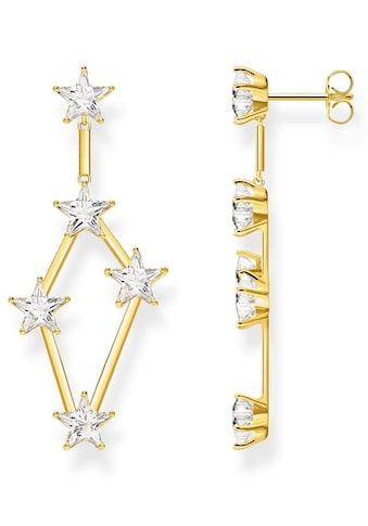 THOMAS SABO Paar Ohrstecker »Sterne gold, H2083 - 414 - 14« kaufen