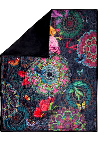 hip Plaid »Abbra«, mit Mandala und Blumen kaufen
