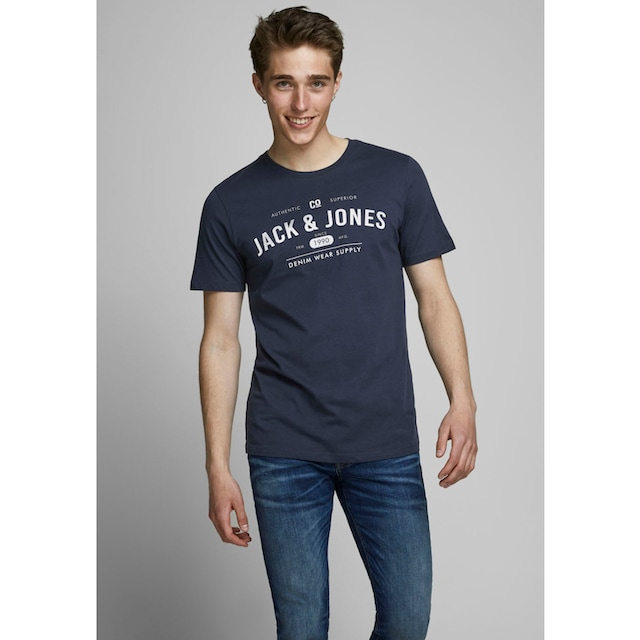 Jack & Jones T-Shirt »JEANS TEE«