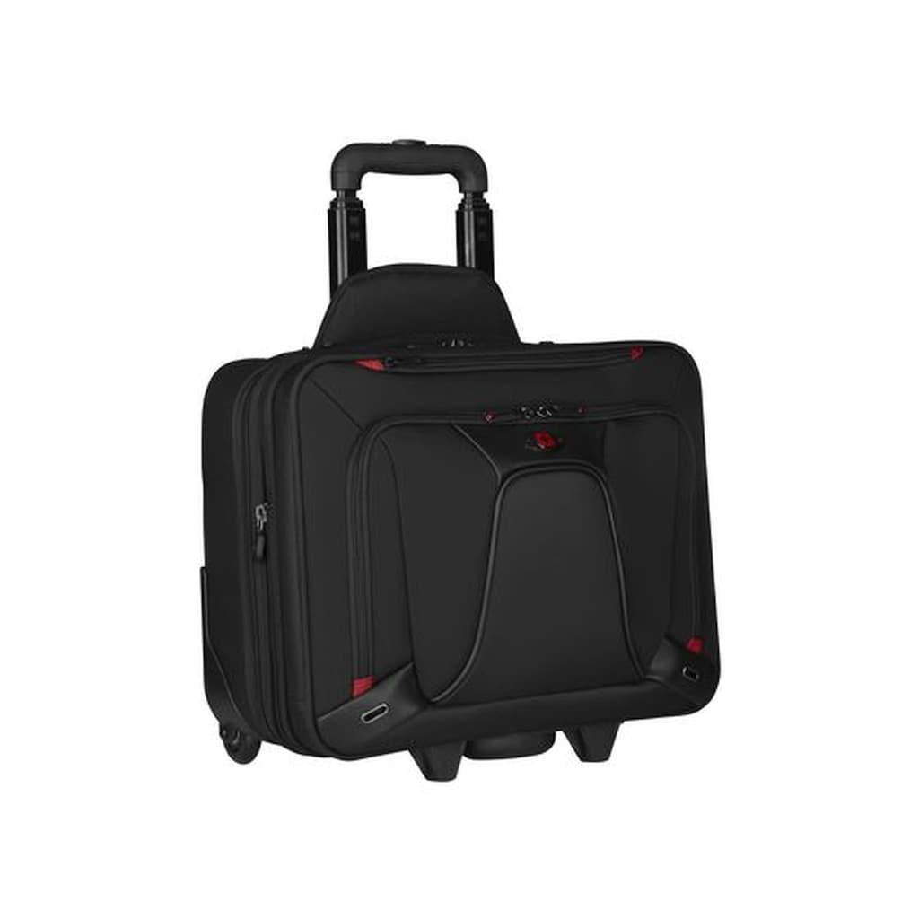 Wenger Laptoptasche »Gepolstertes Fach für einen Laptop bis zu 16 Zoll«, Transfer 40,6cm Trolley schwarz