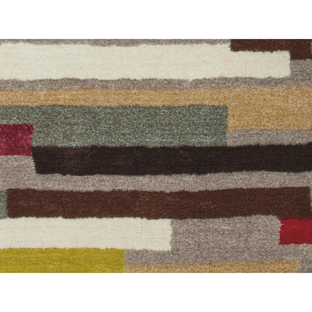 Arte Espina Hochflor-Teppich »Dance 8104«, rechteckig, 30 mm Höhe, Besonders weich durch Microfaser
