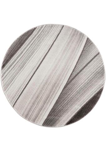 Carpet City Teppich »Noa 9258«, rund, 11 mm Höhe, Wohnzimmer kaufen