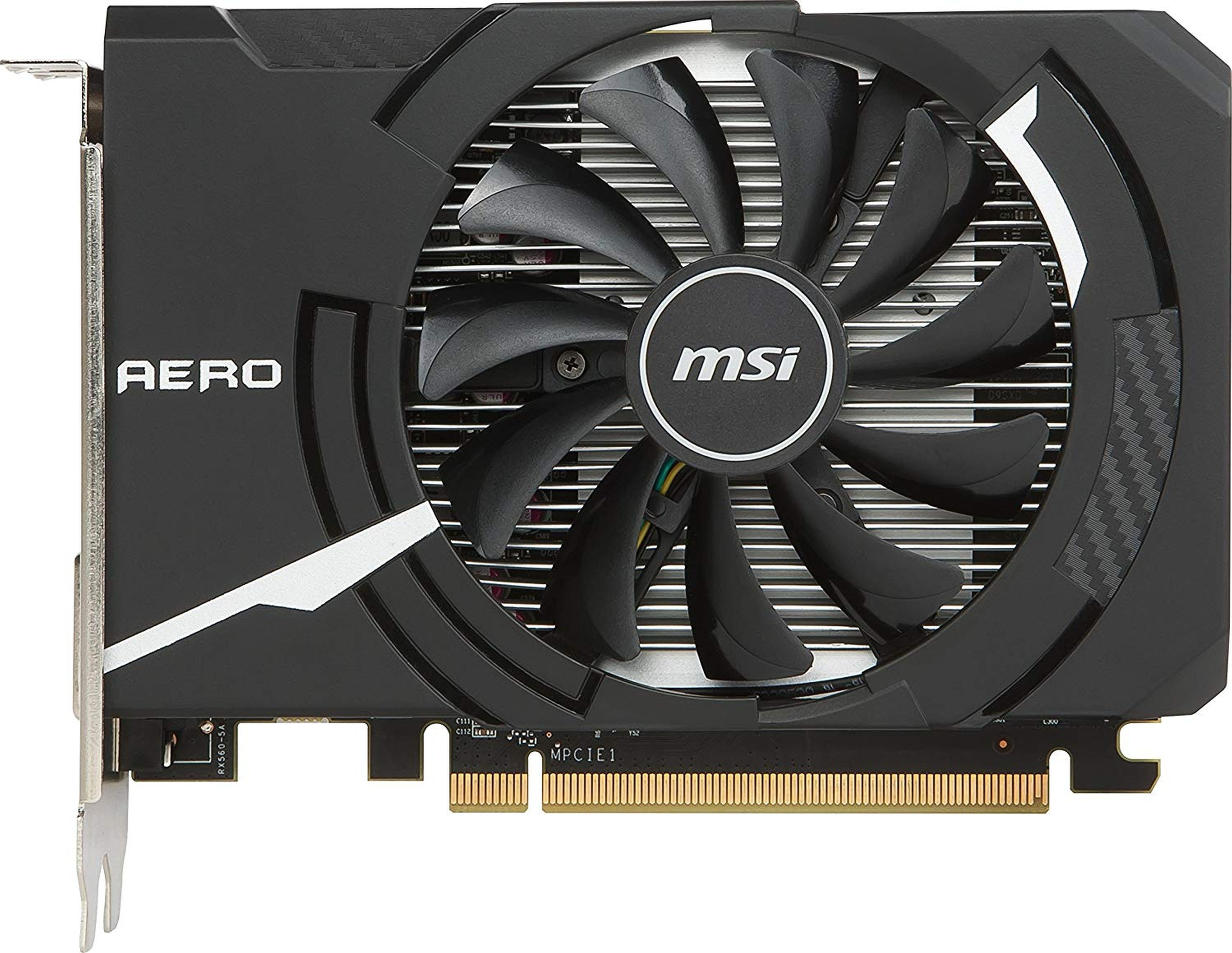 MSI Radeon RX 560 AERO ITX 4G OC »Grafikkarte«