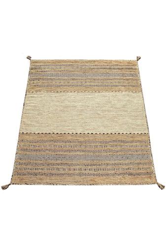 Paco Home Teppich »Kilim 217«, rechteckig, 13 mm Höhe, hangefertigter Web-Teppich mit... kaufen