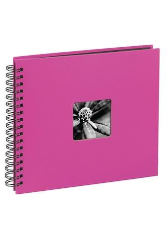 "Hama Fotoalbum »Fotoalbum z. einkleben Pink«, 28 x 24 cm, 50 Seiten, Photoalbum "" Fine... kaufen"