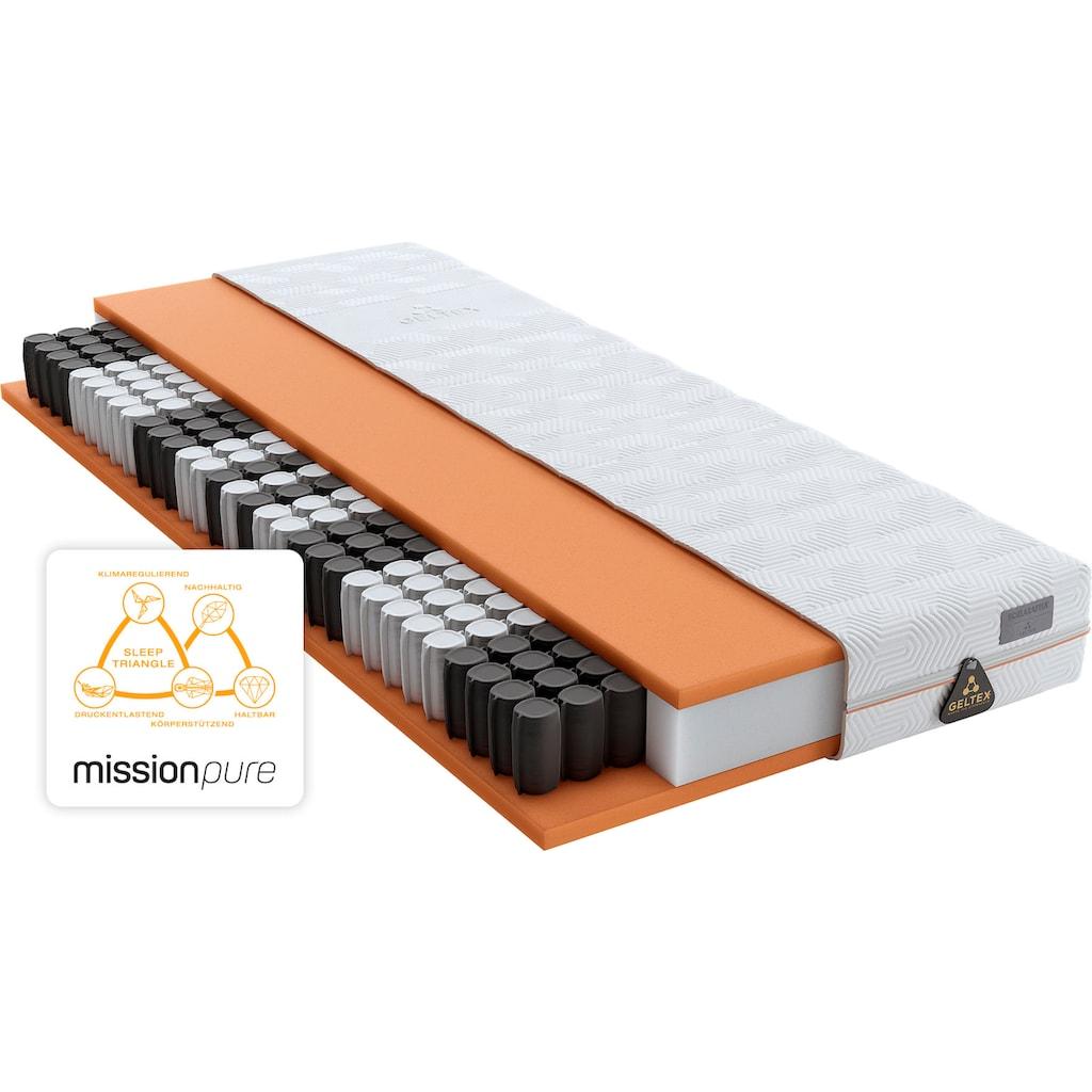 Taschenfederkernmatratze »GELTEX® Quantum Pure 200 TFK«, Schlaraffia, 20 cm hoch