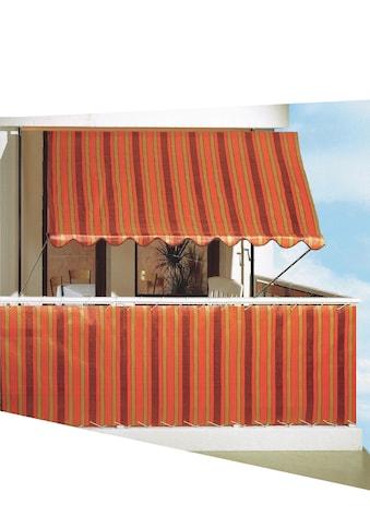 Angerer Freizeitmöbel Balkonsichtschutz, Meterware, braun, H: 90 cm kaufen