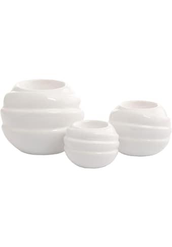 VALENTINO Wohnideen Kerzenhalter »Tajo« (Set, 3 Stück) kaufen