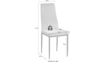 INOSIGN 4-Fußstuhl »Remus«, im 1er,2er und 4er Set erhältlich, in unterschiedlichen... kaufen