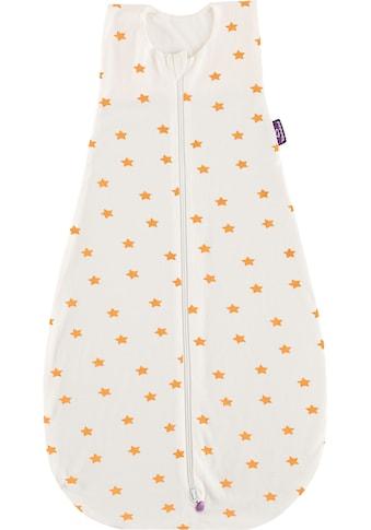 Träumeland Babyschlafsack »Sommerschlafsack LIEBMICH Baumwolle, Design weiß mit gelben... kaufen