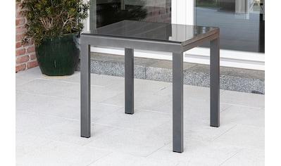 MERXX Ausziehtisch Aluminium, ausziehbar, 80 - 120x70 cm kaufen