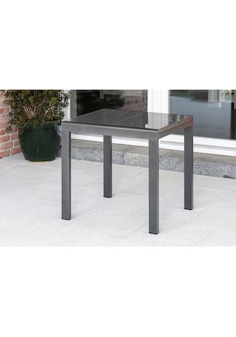 MERXX Gartentisch Aluminium, ausziehbar, 80 - 120x70 cm kaufen